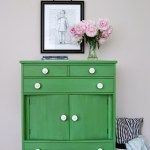 Tavern Green Milk Paint Dresser WD-1
