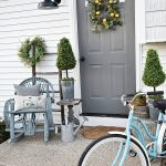 Simple Spring Porch