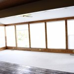 Sunroom Makeover: Painted Trim & Walls
