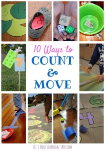 10 Ways to Count and Move