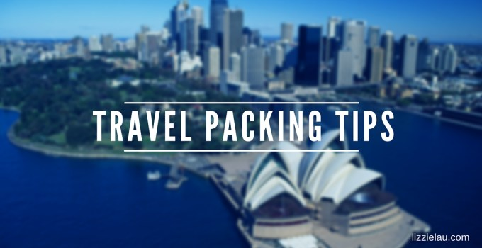 travel packing tips featured