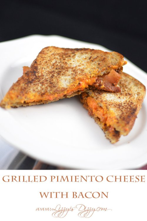 Grilled Pimiento Cheese Sandwiches with Bacon