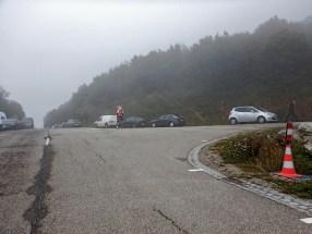 durch die Nebelschwaden hindurch und zack das Ziel.....Ohne große Wetterkapriolen