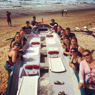 Llantwit Major SLSC Surf Boat Crews 2015