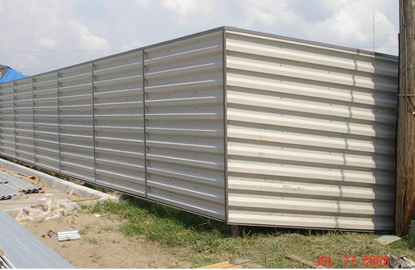 Wonderful Sheet Metal Fence Panel View On Decor