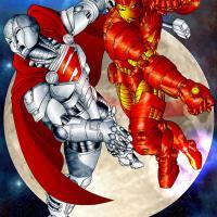 Iron Man Vs Steel