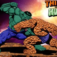 Battle for Beyond: Hulk Vs Thing