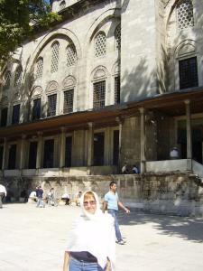 En la Mezquita de Fatih