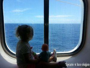 Crucero por las Antillas con 2 años y 3 meses