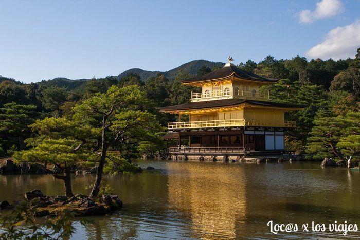 Templo Kinkaku-ji o del Pabellón Dorado
