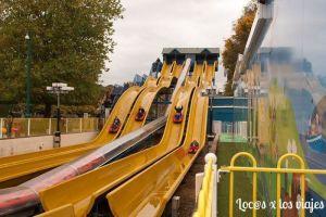 Atracción para mayores en el Paultons Family Theme Park.