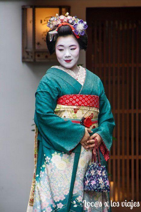 ¿Es o no es una geisha o una maiko auténtica?