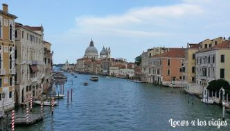 Un paseo en góndola por Venecia
