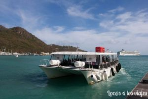 Water taxi en Philipsburg