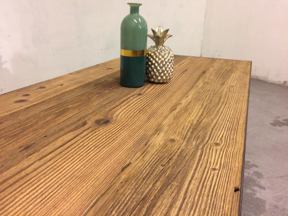 Table vieux bois