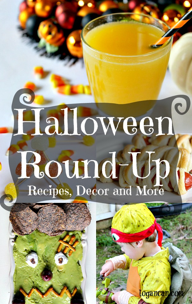 Halloween Round-up of recipes, decor and more!