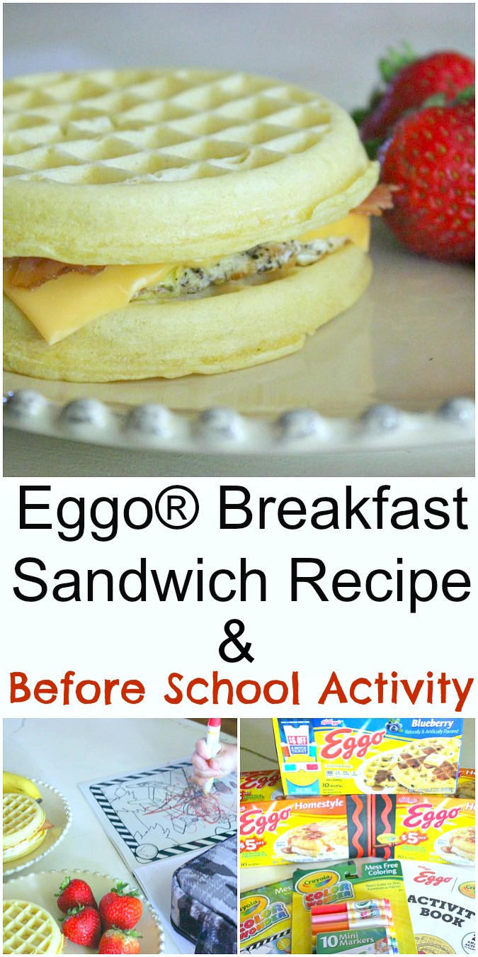 Eggo® Breakfast Sandwich Recipe and Before School Activity