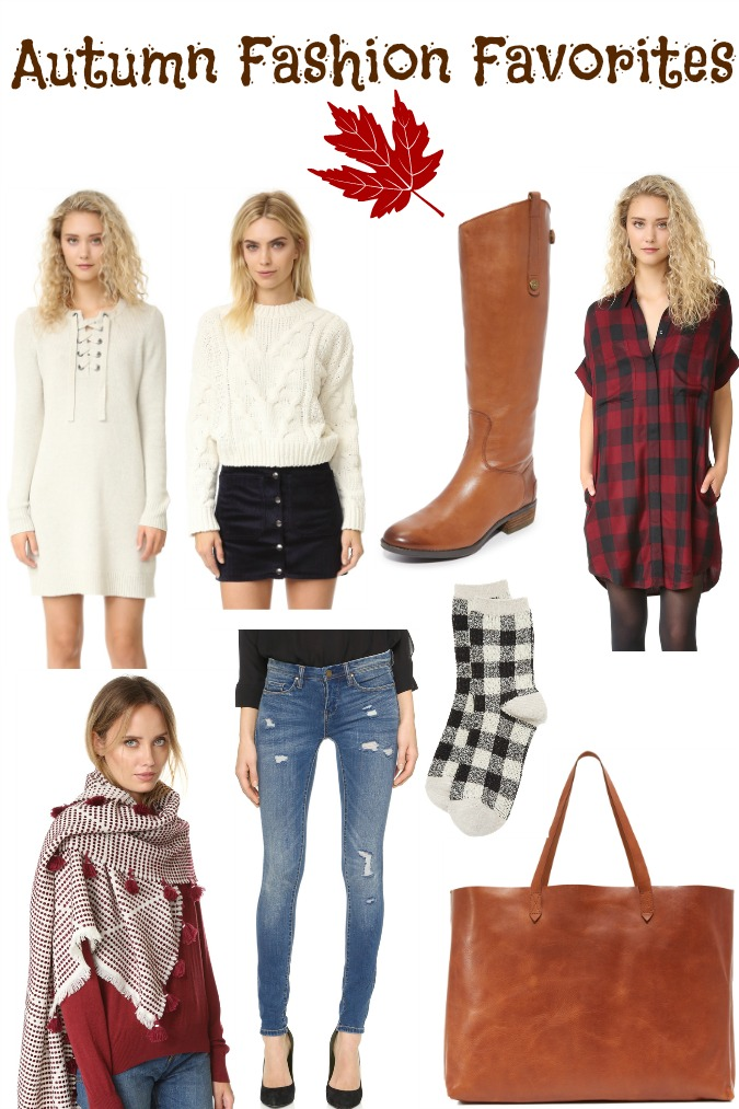 Autumn Fashion Favorites Shopbop Sale
