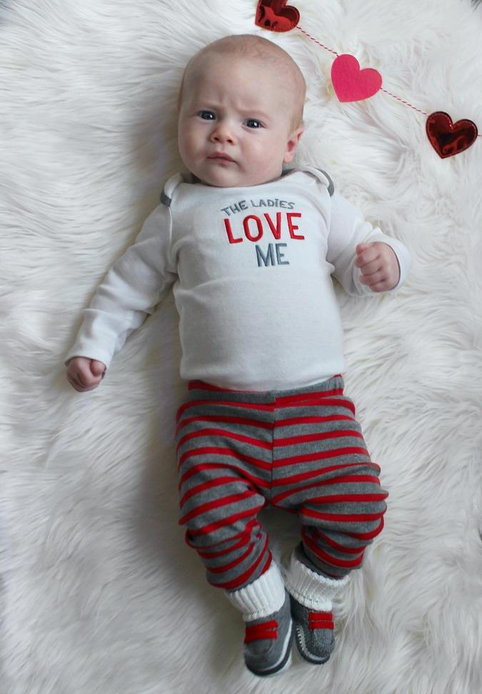 Weston is three months