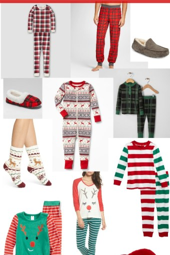 Holiday Pajamas for the Family