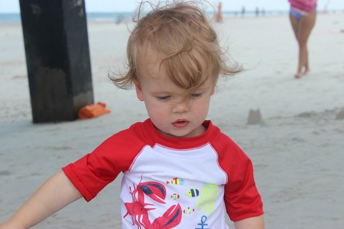 Beach Baby Boy