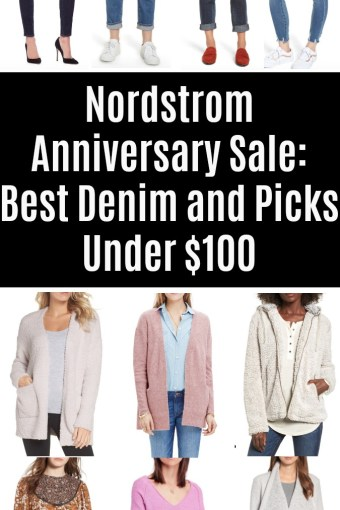 Nordstrom Anniversary Sale 2018: Denim & Picks Under $100