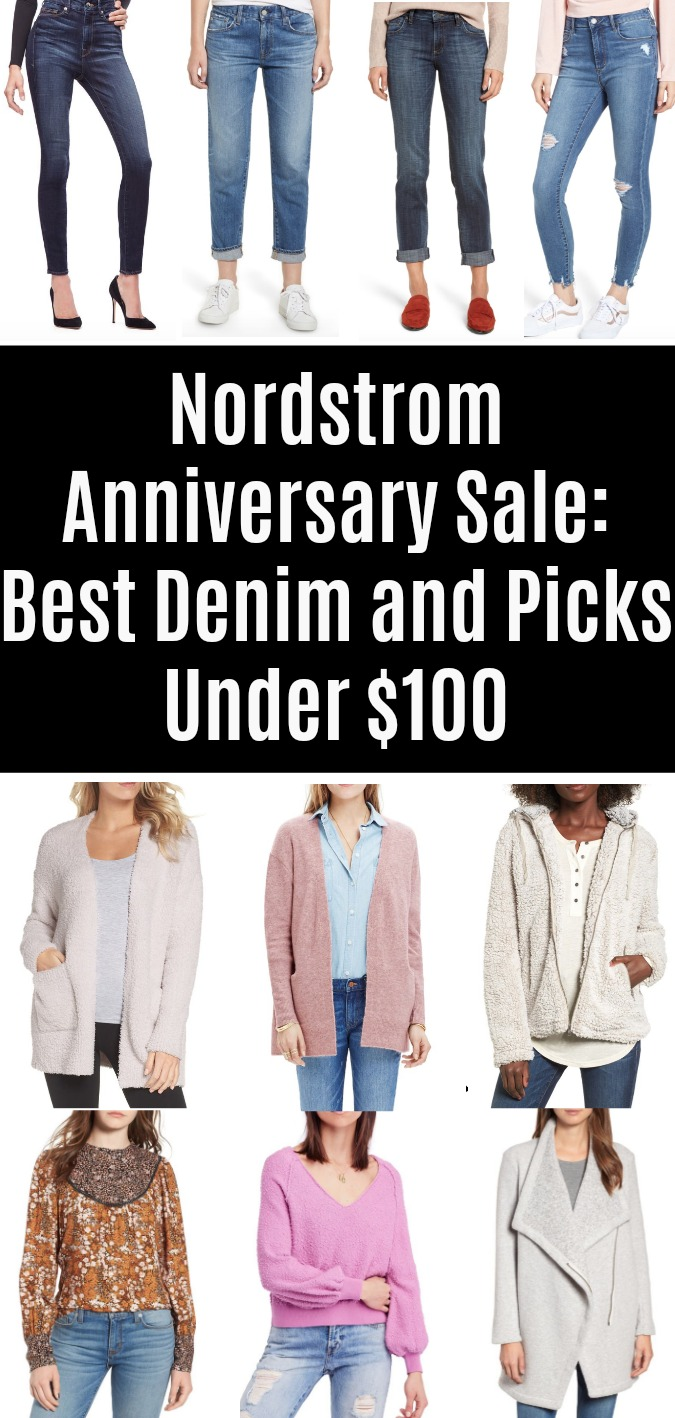 Nordstrom Anniversary Sale 2018- Best Denim and Picks Under $100
