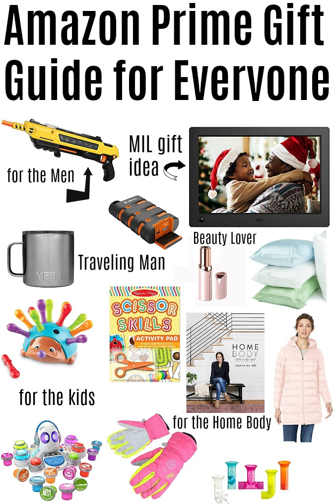 Amazon Prime Gift Guide for Everyone