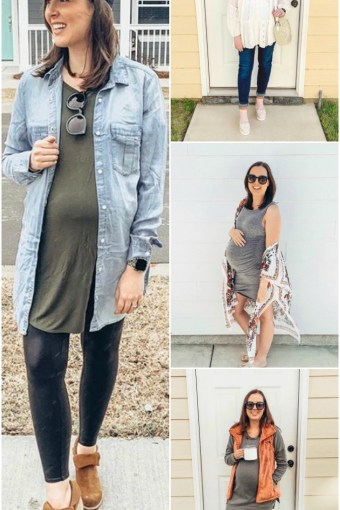 Staple Clothing Pieces for Pregnancy