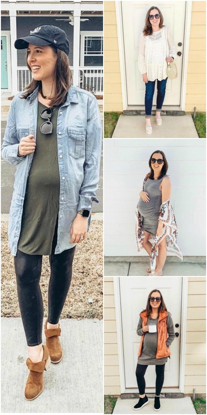 Staple Closet Pieces for Pregnancy