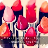 Milani and Jordana Are No Longer Cruelty Free