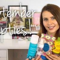 September 2015 Empties Video
