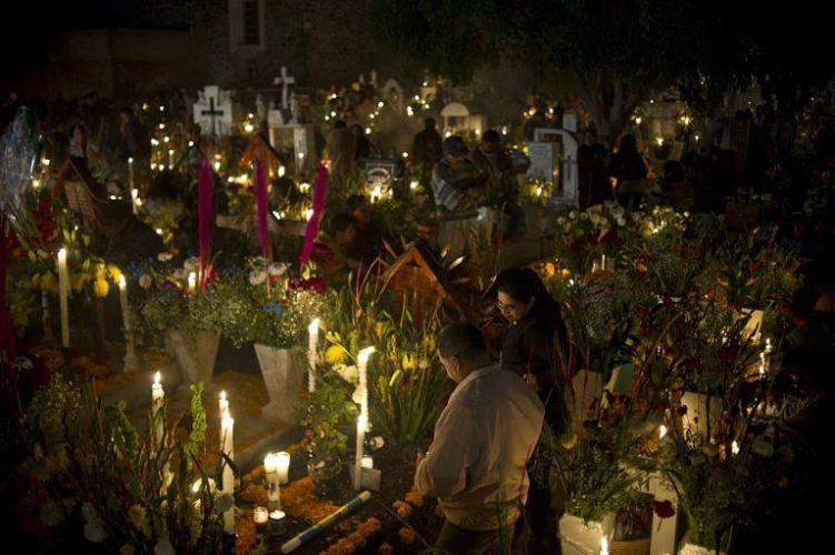 Día de Muertos, una tradición muy viva en México.