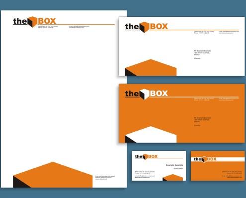 The Box - visual identity