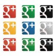 Google Plus Icon Pack logo vector