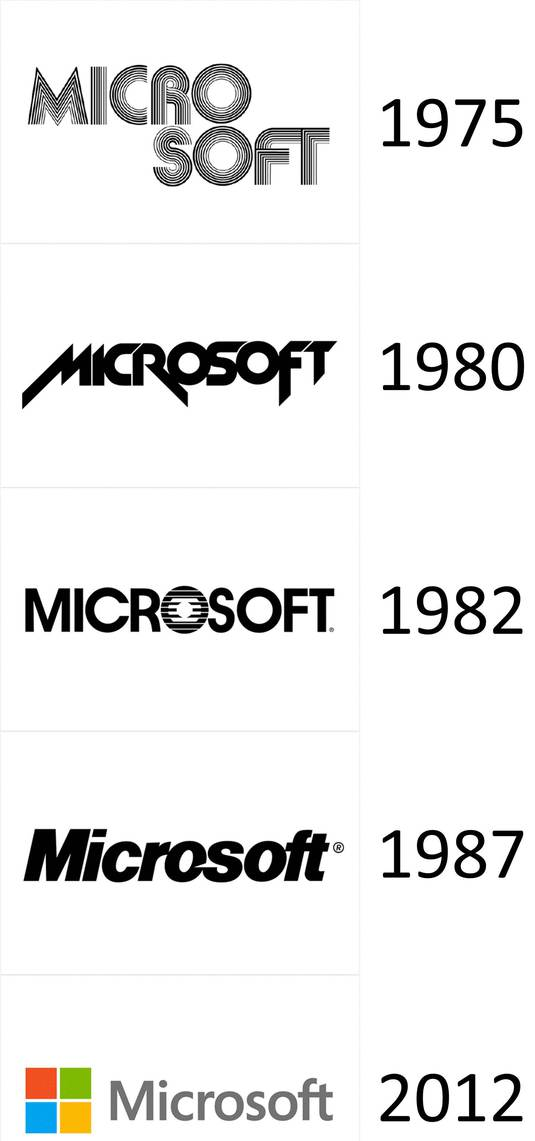 microsoft logo history