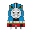 Thomas the Tank Engine (.EPS) vector logo