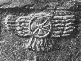 Nimrud_stele_winged_sun