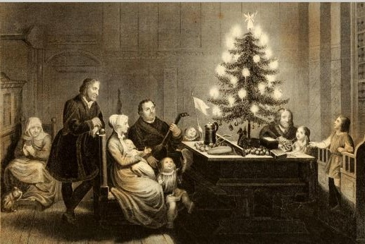 LutherXmas - Christmas Trees Are Not Pagan! €� Logos Apologia