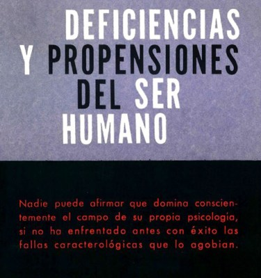 Deficiencias y propensiones del ser humano - 1962