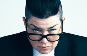 Lea DeLaria performs a jazz-inspired David Bowie cabaret show Sept. 17. (Sophy Holland)