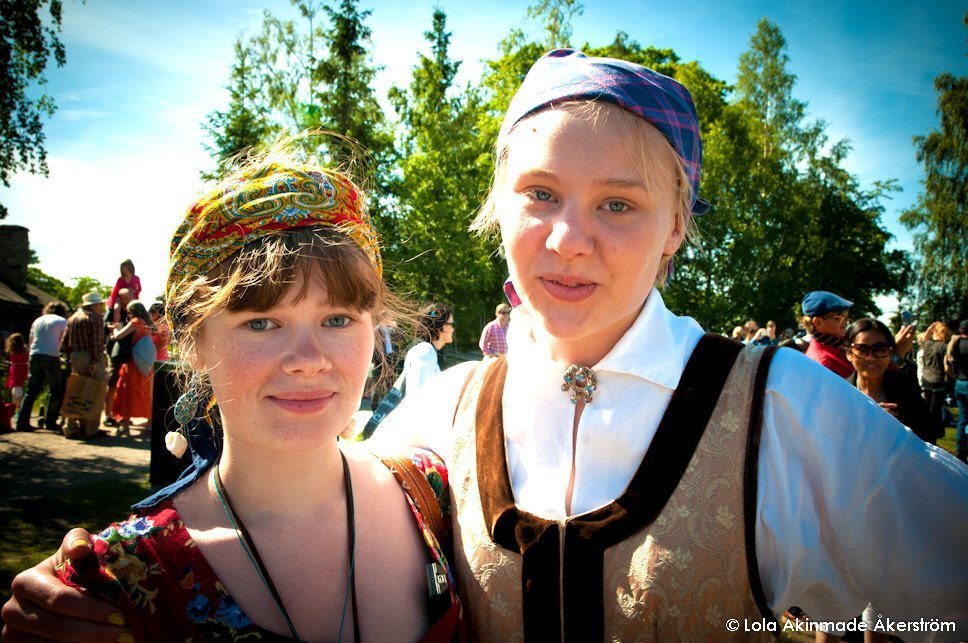 Scenes from Midsummer at Skansen, Stockholm - Midsummer Photography by Lola Akinmade Åkerström