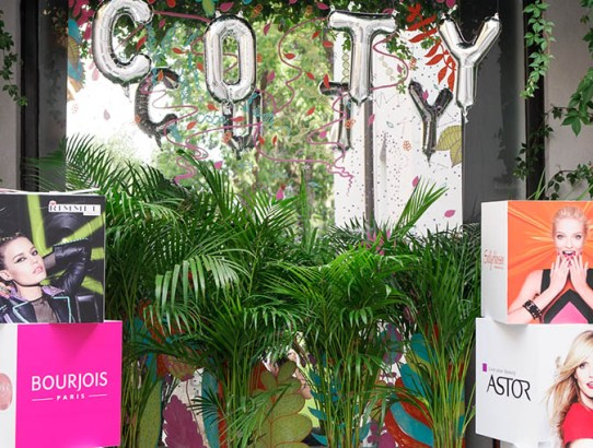 Beauty Bloggers Garden Party by COTY