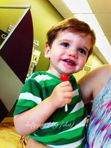 Jasper lollipop