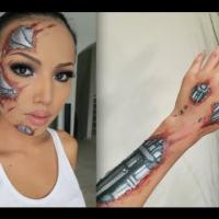 Terminator Sfx Make-up Tutorial
