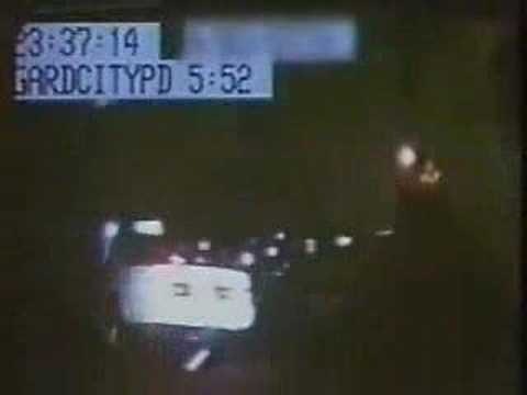 The Garden City Ghost Car - Car Vanishes During Police Chase