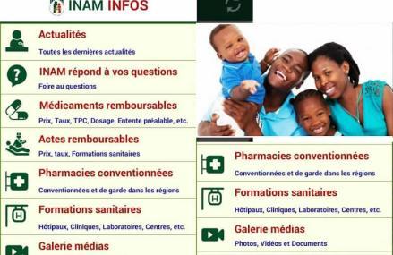 Togo : L'INAM lance son application mobile