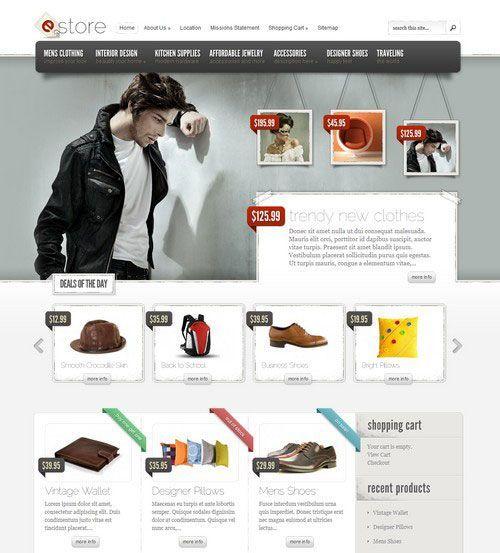 eStore-Temas de WordPress para tiendas virtuales