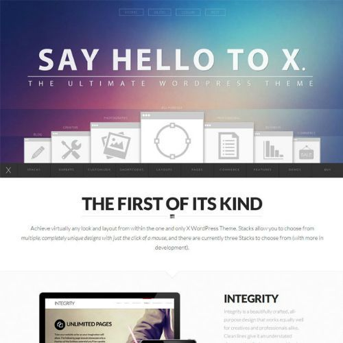 X WordPress - Tema Empresas