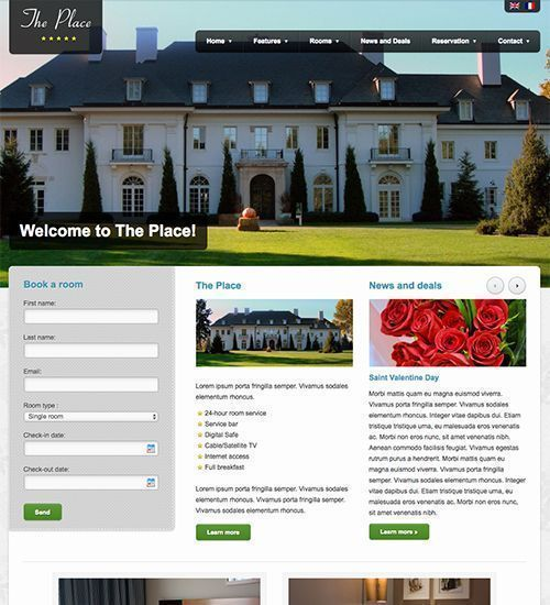 The Palace - Tema WordPress hotel